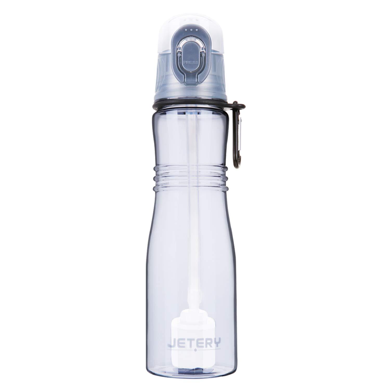 botella con fitro de agua