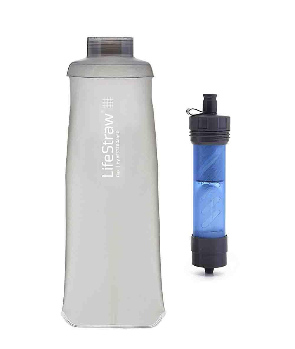 LifeStraw Flex, sistema de filtración de agua multifuncional con filtración en 2 etapas