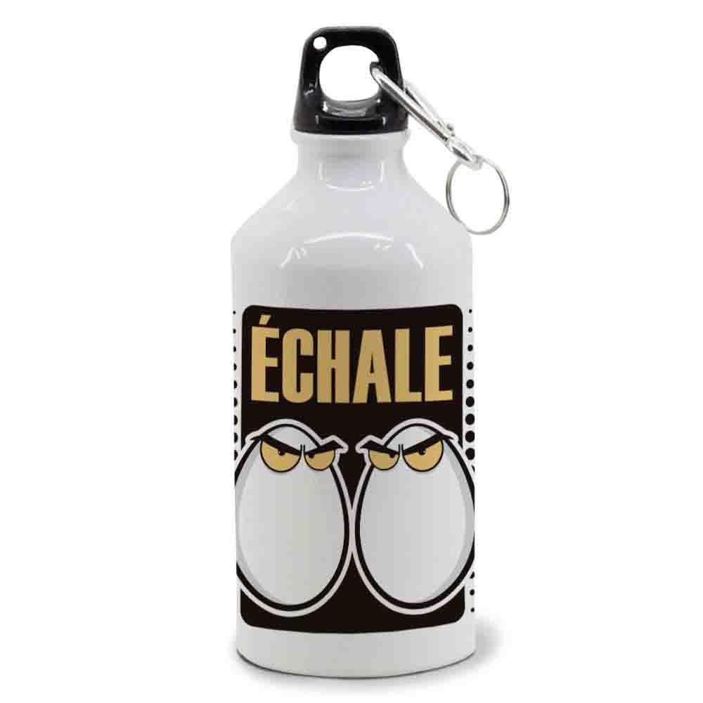 mundohuevo Botellas de Agua. Aluminio. Regalo