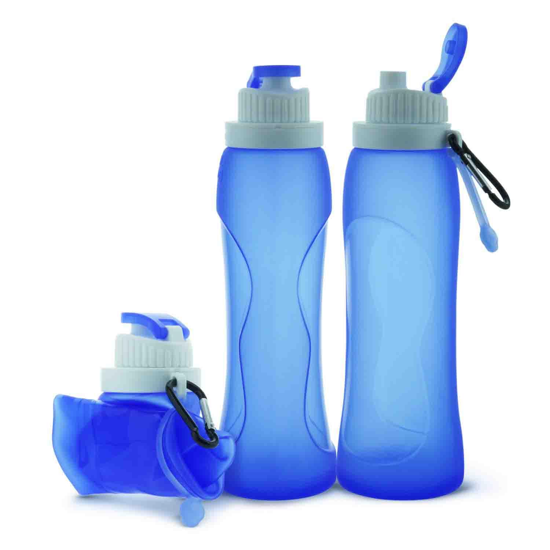 Botella de Agua Deportiva 500ml / 1000ml Sin BPA Apertura con un Solo botón & Eco-Friendly Reutilizable de Plastico