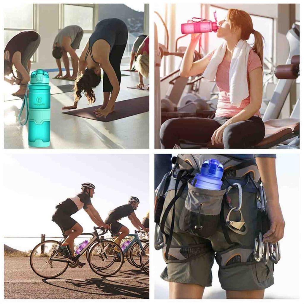 botellas deportivas plastico sin bpa