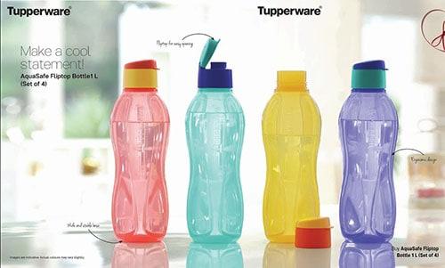 Las mejores botellas Tupperware, precios, opiniones y tamaños